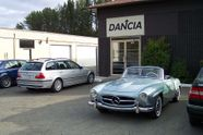 Dancia Motors European & Sports Cars Ltd shop exterior with cars